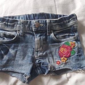 Other - Girls &Denim faded summer trendy shorts 4 5